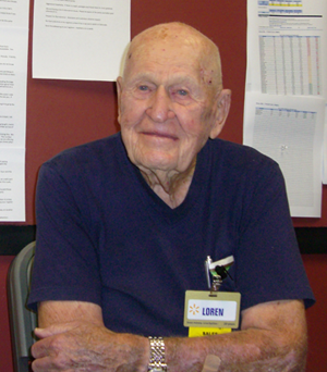 Loren Wade: America's Outstanding Oldest Worker 2012